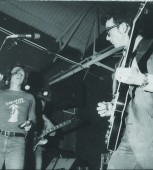 Delbert McClinton (left) and Elvis Costello played the Old Warehouse in 1978.