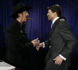 Kinky and Rick Perry