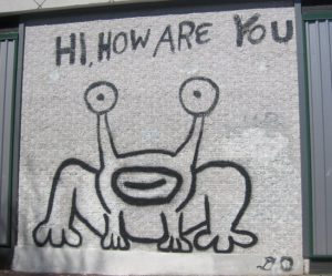 Daniel Johnston Hi How Are You? mural