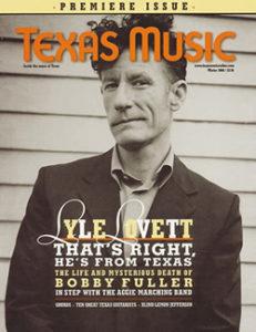 Texas Music Lyle Lovett